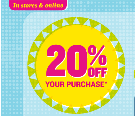 There is a new 20% off Old Navy printable coupon that is valid from