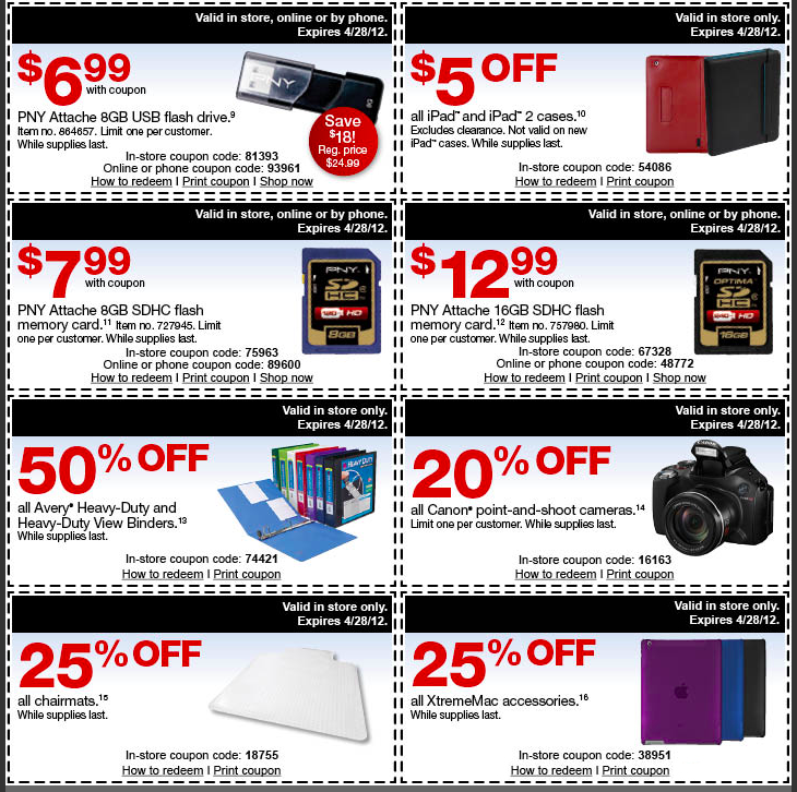Staples 5 off 25 coupon code
